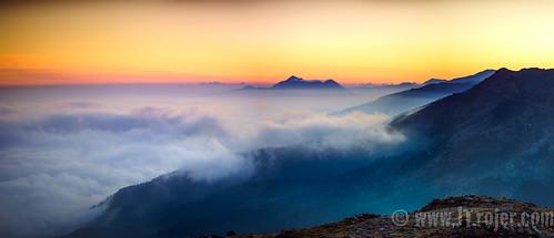dusktilldawn tirol innsbruck austria tyrol viggarspitz patscherkofel hikingadventures jtrojercom forest trojer