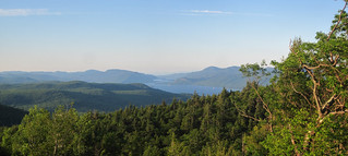 The foot of Lake George seen from Prospect Mountain. | by MTBradley