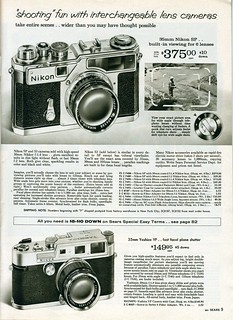 1961 Sears: Nikon SP, S3, Yashica YF | by Nesster