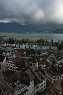 from the tower in Rapperswil castle | by matermorts