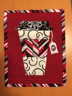Mug rug for the #tealoversmugrug swap on IG. Pattern up on Crafts.