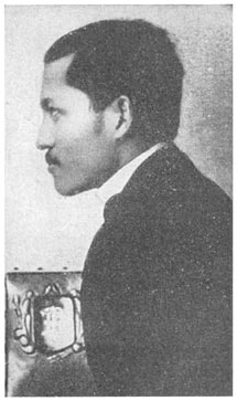 Photograph of Jose Rizal in London.