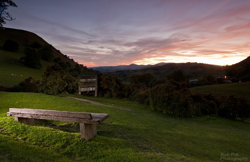 light sunset clouds bench painting seat hill tokina valley enjoy take and llangollen bran afterglow castell dinas the 1116 a