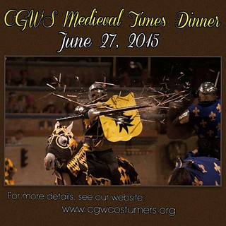 Time is running out to purchase tickets to our CGW Medieval Times Dinner.