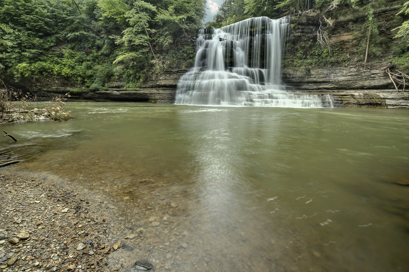 Mill Creek Falls, Spring Creek, Overton County, Tennessee 3