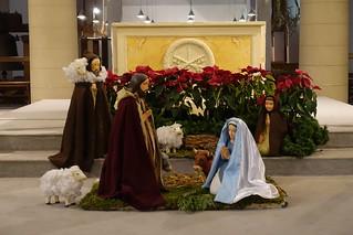 Nativity scene @ Eglise Saint-Pierre du Gros Caillou @ Paris | by *_*