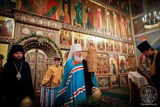 Великая вечерня в Иверском монастыре 370