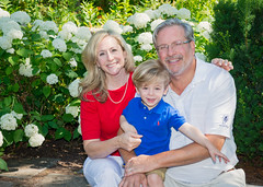 State Representative Dr. Bill Petit, his wife Christine and their son, William.
