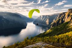 Aurland  Paragliding