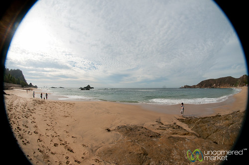 beach mexico fisheye mazunte pacificcoast mazuntebeach