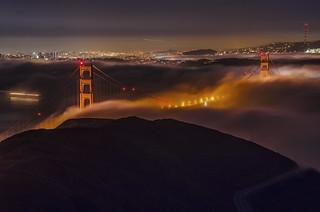Golden gate fog | by vl8189