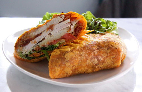 Turkey Wrap at (Monika's) Cafe Bar Astoria, Queens | by ChrisGoldNY