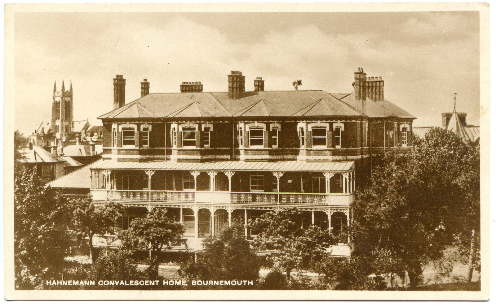 Hahnemann House Hahnemann Convalescent Home Hahnemann Road West Cliff Bournemouth Dorset Flickr