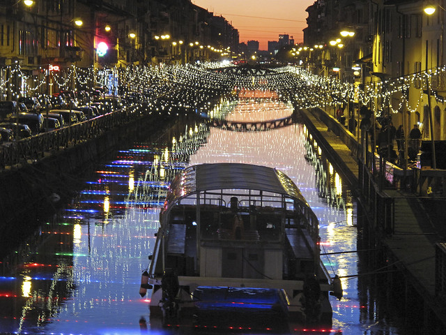 Milano lights #3 (Naviglio Grande)