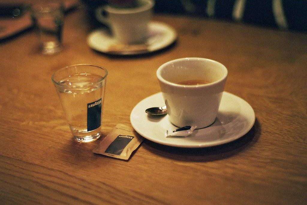 Espresso comes with water #7 by Jannik Hildebrand