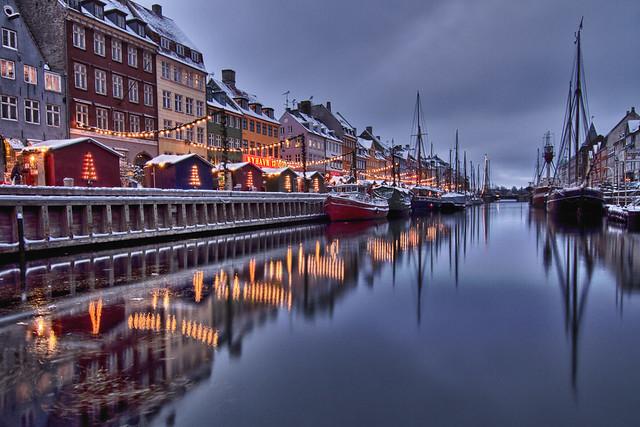 Christmassy Copenhagen