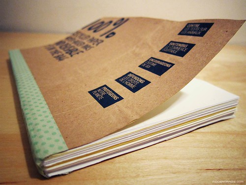 Body Shop Scrap Paper Book | by modern rags