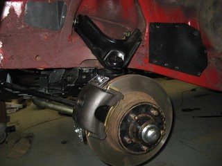 disc brakes on   by Tolley's Charger