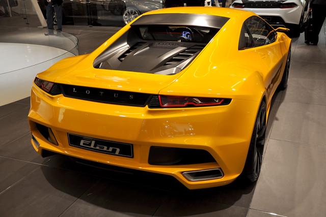 Lotus Elan rear
