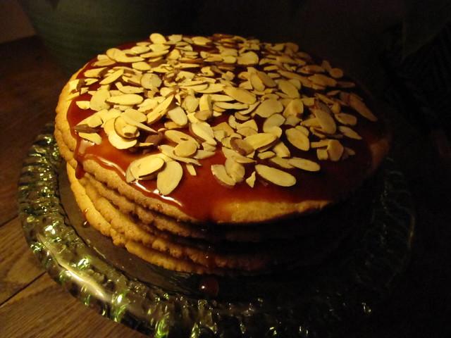 Neapolitan cake