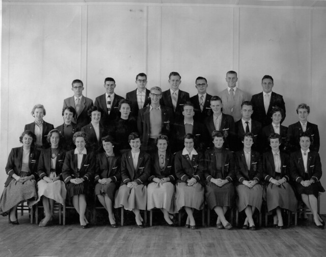 Section 23,  Newcastle Teachers' College, NSW, Australia - 1957
