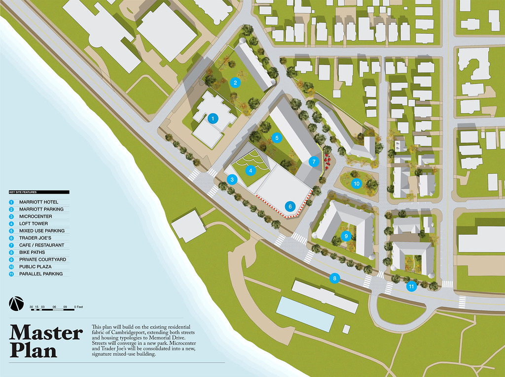 Magazine Beach Site: Master Plan - by oh sk