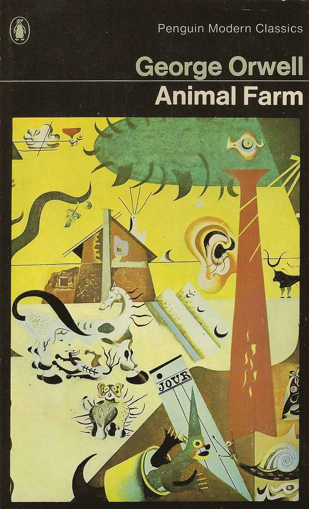 Penguin Books 838 George Orwell Animal Farm George Orw Flickr