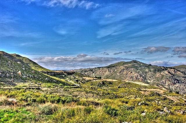 paisaje zona norte Granada 6