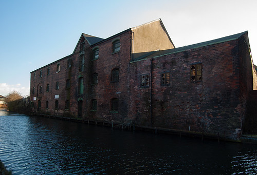 Former canalside warehouse