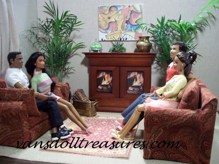 Fine Paisley Loveseat Scene1Wm Handcrafted 1 6 Scale Furniture Alphanode Cool Chair Designs And Ideas Alphanodeonline