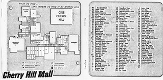 Cherry Hill Mall Map on