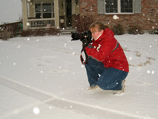 Photographing in the Snow Storm | by mhedstrom