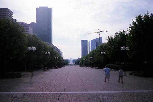 La Défense l'an 1985 - Paris   by normandie2005_horst Moi_et_le_monde