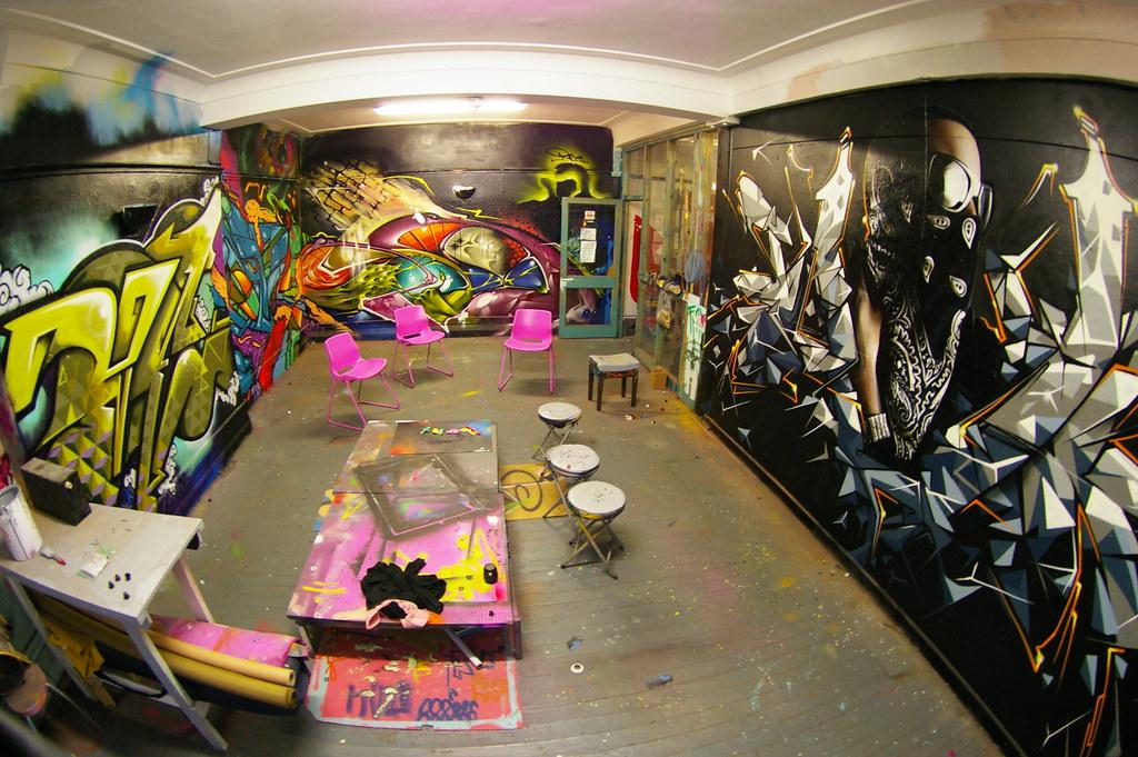Zap Graffiti Studio   The studio where I paint...inspiring..\u2026   Flickr