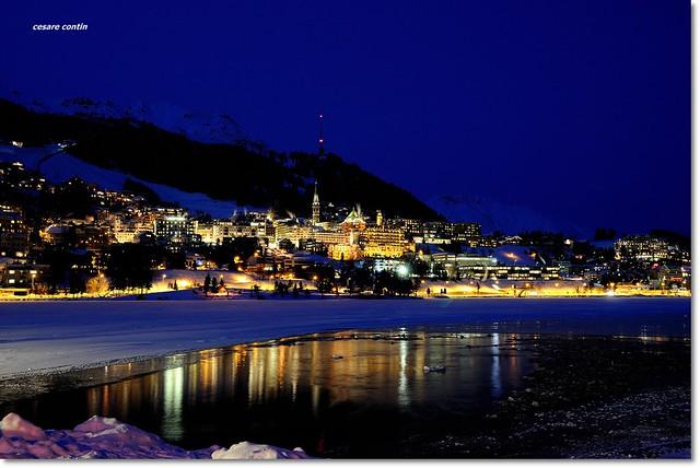 La perla dell'Engadina. St Moritz.