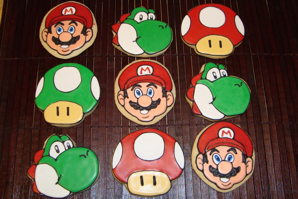 Super Mario Theme Cookies | I really surprised myself with t… | Flickr