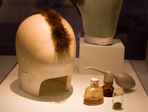 DeNiro's wig in Taxi Driver, Museum of the Moving Image | by gsz