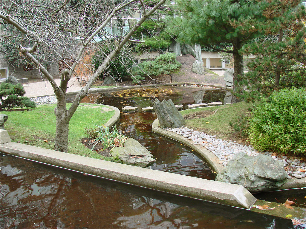 Le jardin japonais de Noguchi (UNESCO, Paris)