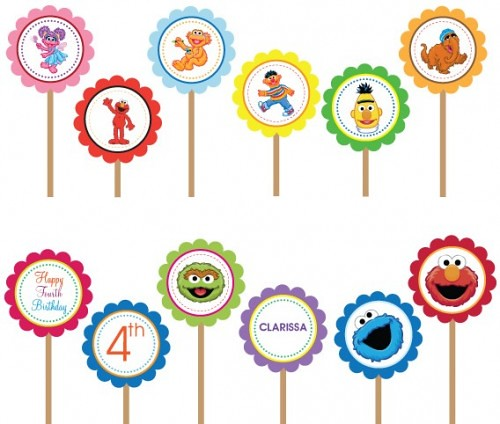 Sesame Street Elmo Cookie Monster Abby Cadabby Babies Begi