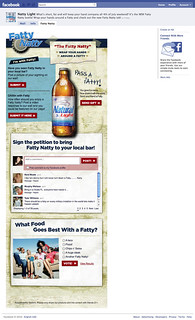 Beverage Anheuser Busch Natural Light Fatty Natty Facebook 2010 | by Social Wendy Group