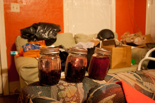 Blackberry-infused moonshine | by camerazn