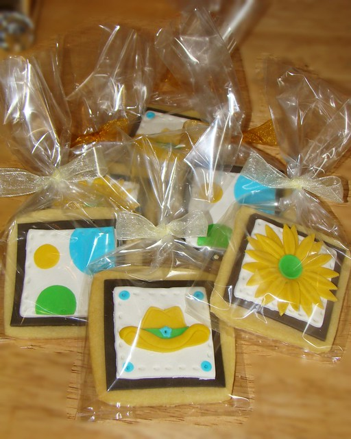 cowgirl shower cookies