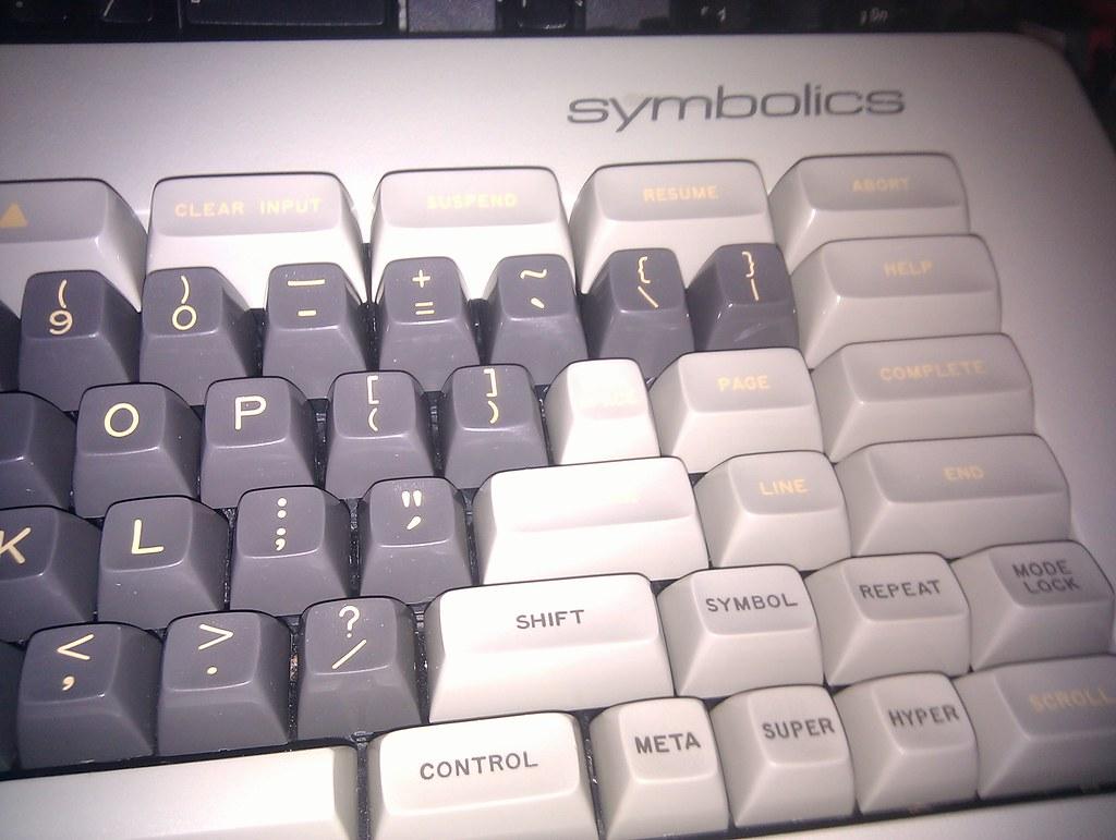 Symbolics Keyboard | Symbolics