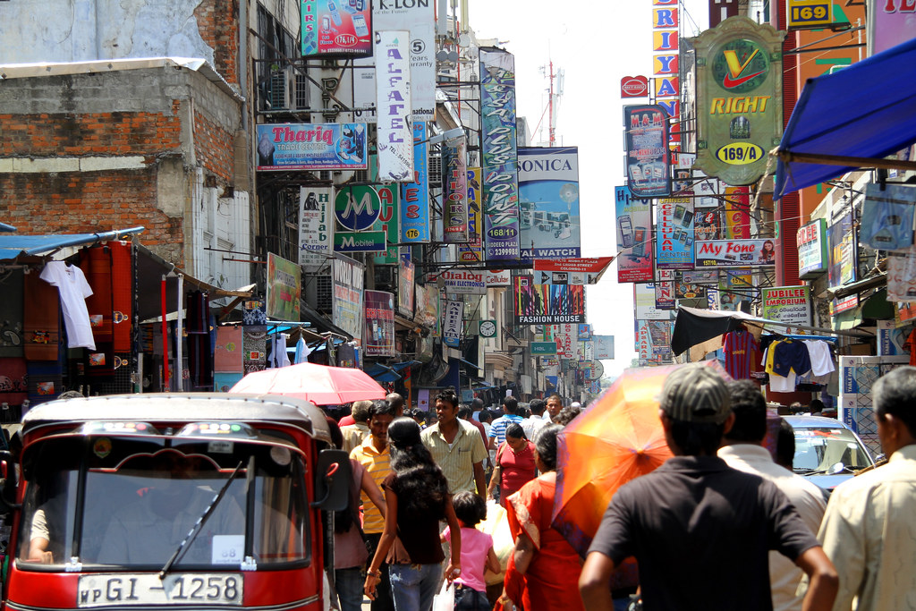 Colorful Colombo, Sri Lanka