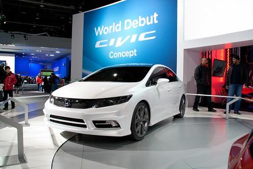 2012 Honda Civic Sedan ConceptNAIAS 2011 - Detroit, Michigan-122 Photo