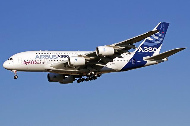 Airbus Industrie Airbus A380-861 F-WWDD TLS 22-09-16