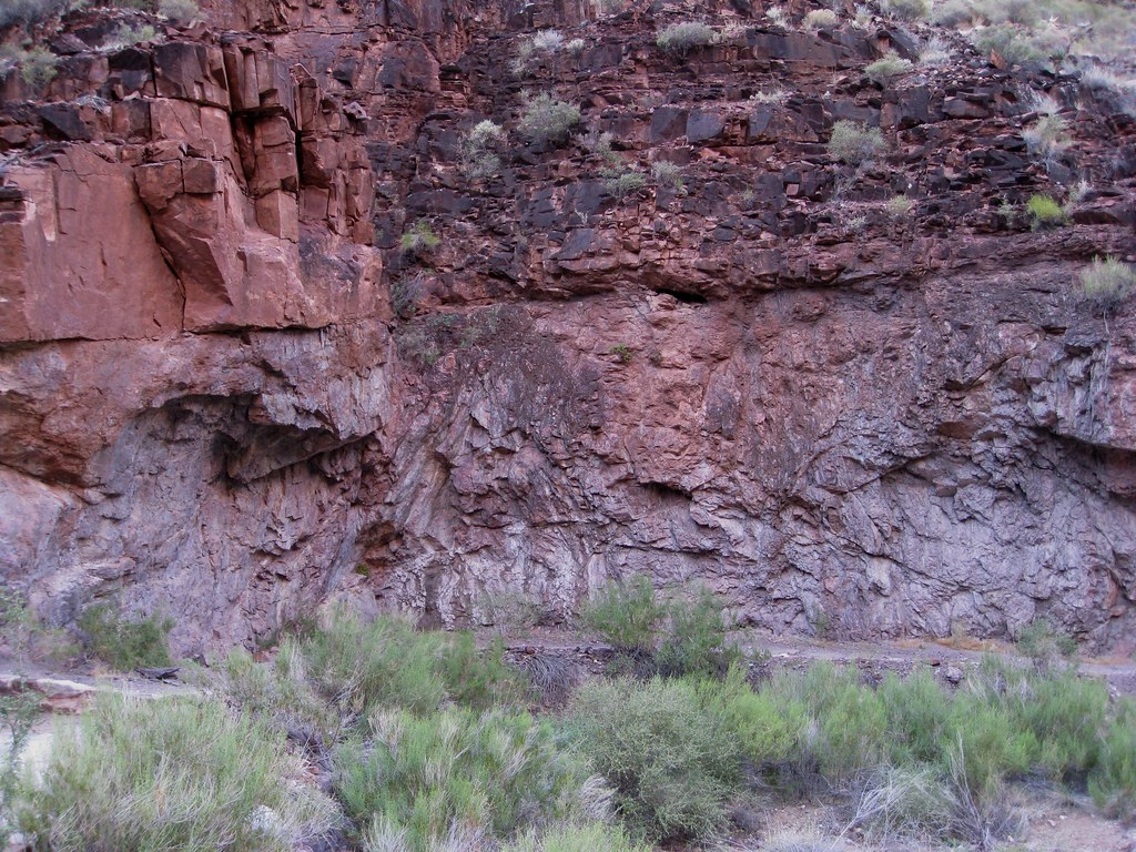 Hiking Through Vishnu Schist This Is Bright Angel Canyon