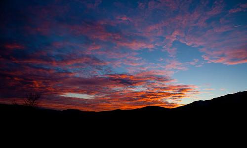sunset clouds daytonnevada nevadasunset