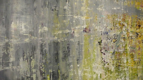 Close up of one of Gerhard Richter's Cage (1) - (6)