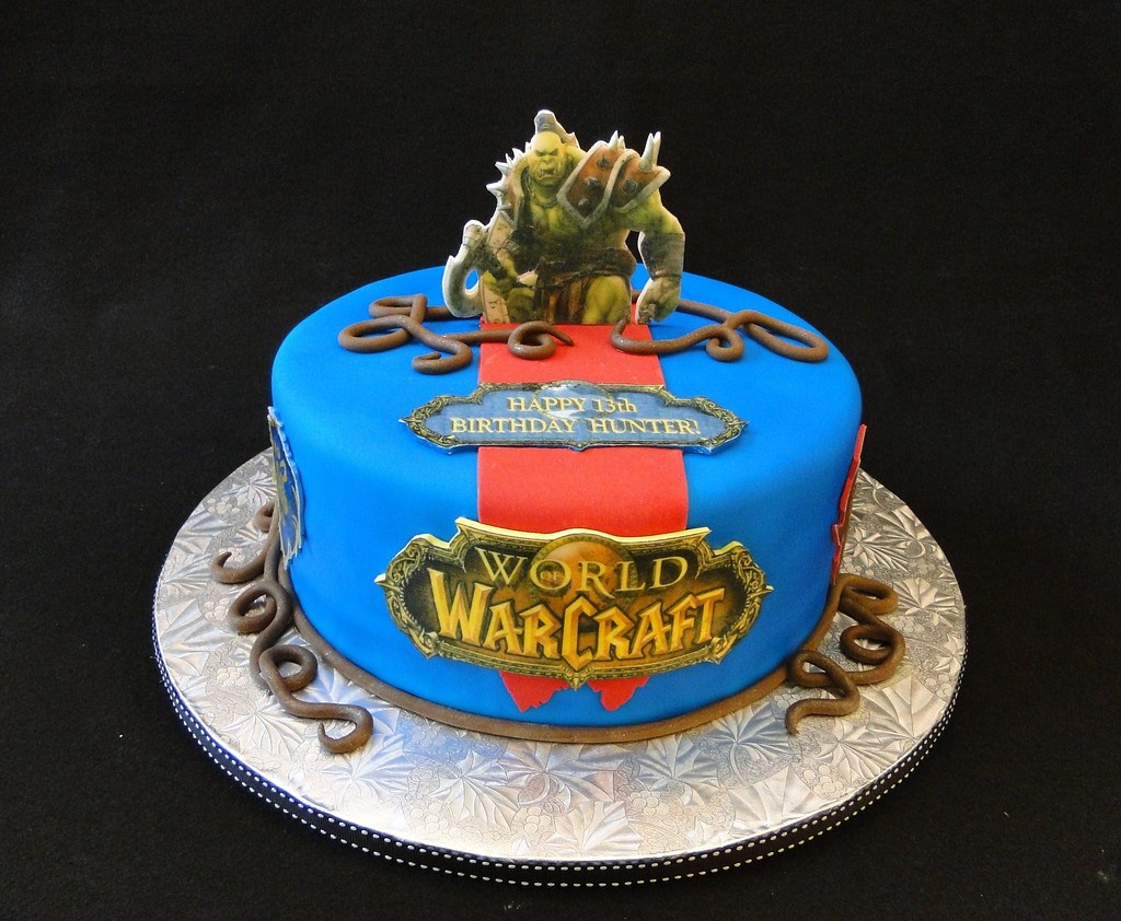 World of Warcraft Cake | Cakes By Elisa Serving all of Centr… | Flickr